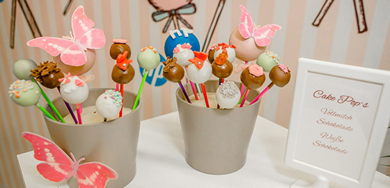 Catering Angebot Cake Pops