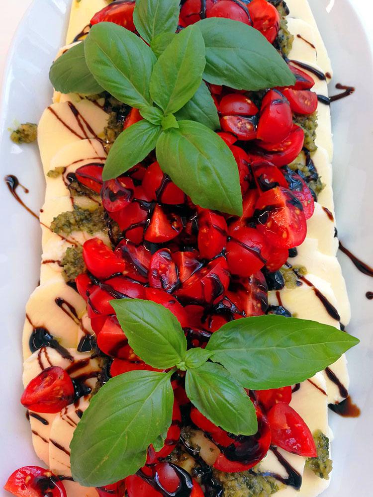 Catering Mozarella Tomaten