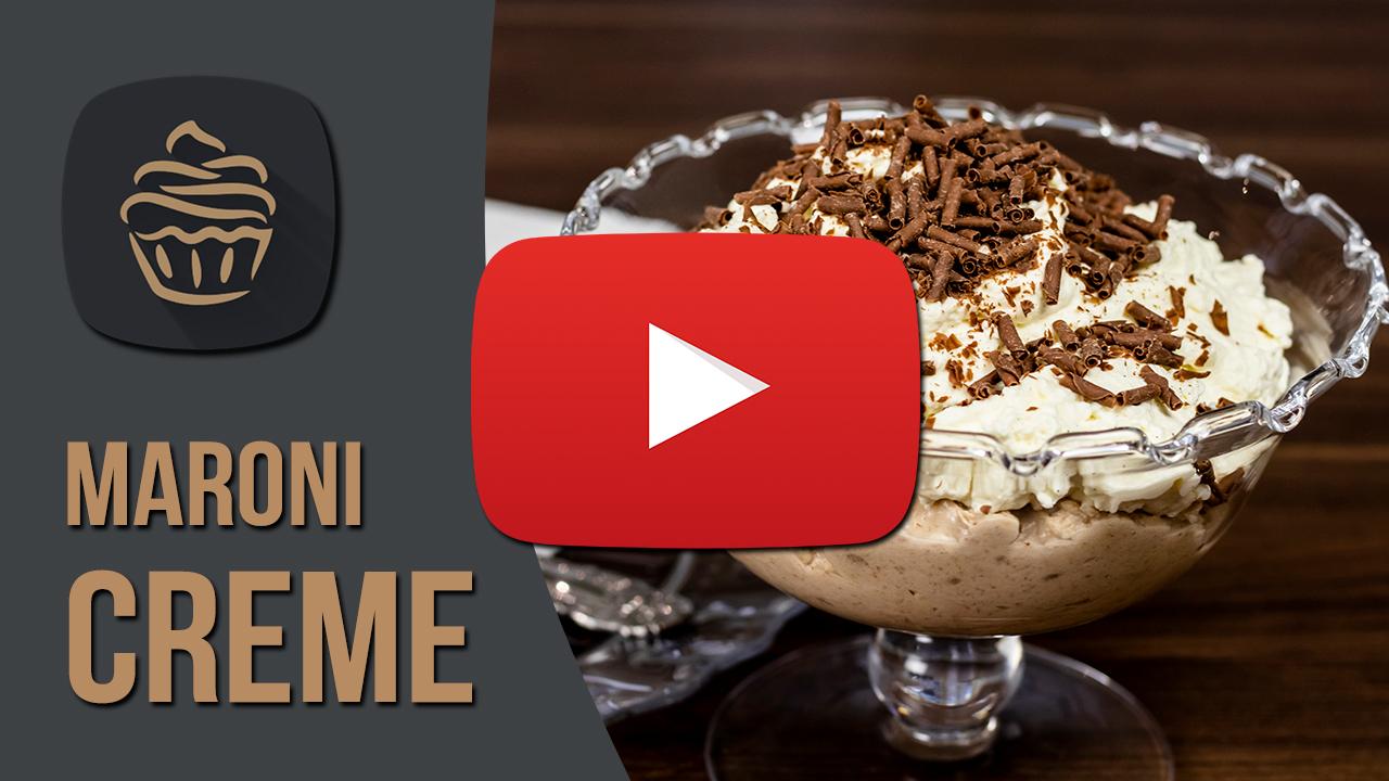 YouTube Maronicreme mit Vanilleschlagobers