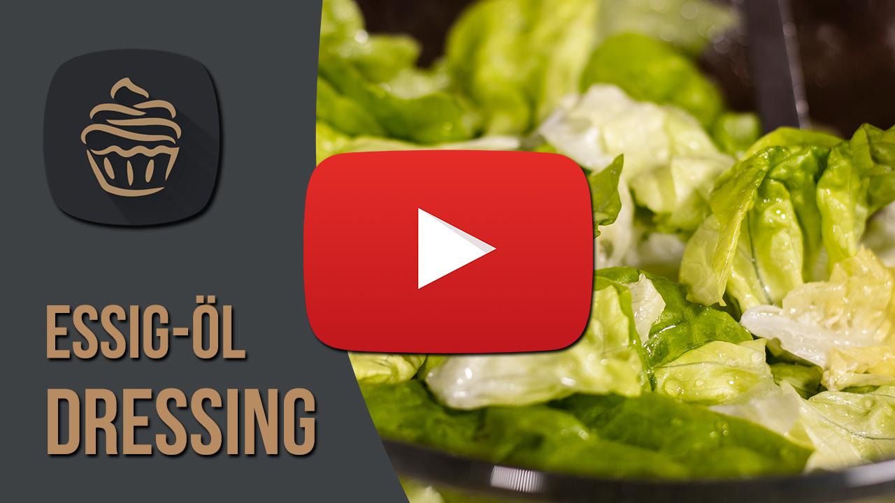 YouTube Essig-Öl Dressing